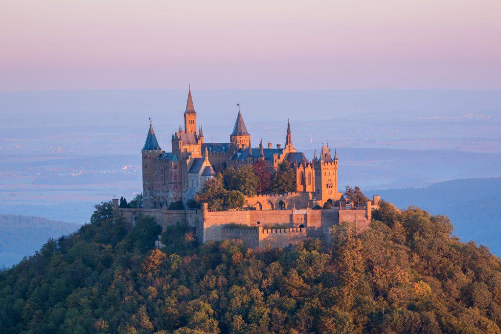 Замок Гогенцоллерн, земля Баден Вюртемберг