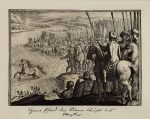 Мериан Маттеус - Конь Кира переправляется через Евфрат