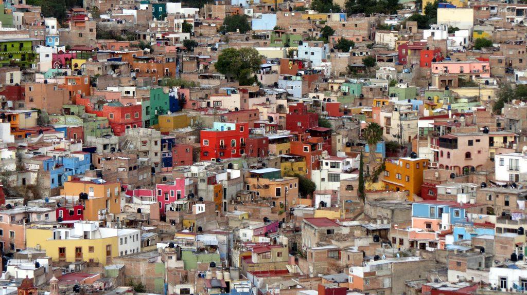 Мексиканские трущобы, город Гуанахуато