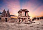Храм Виттала в Хампи. Индия фото
