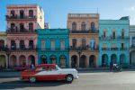 Ретро автомобиль в Гаване на Кубе
