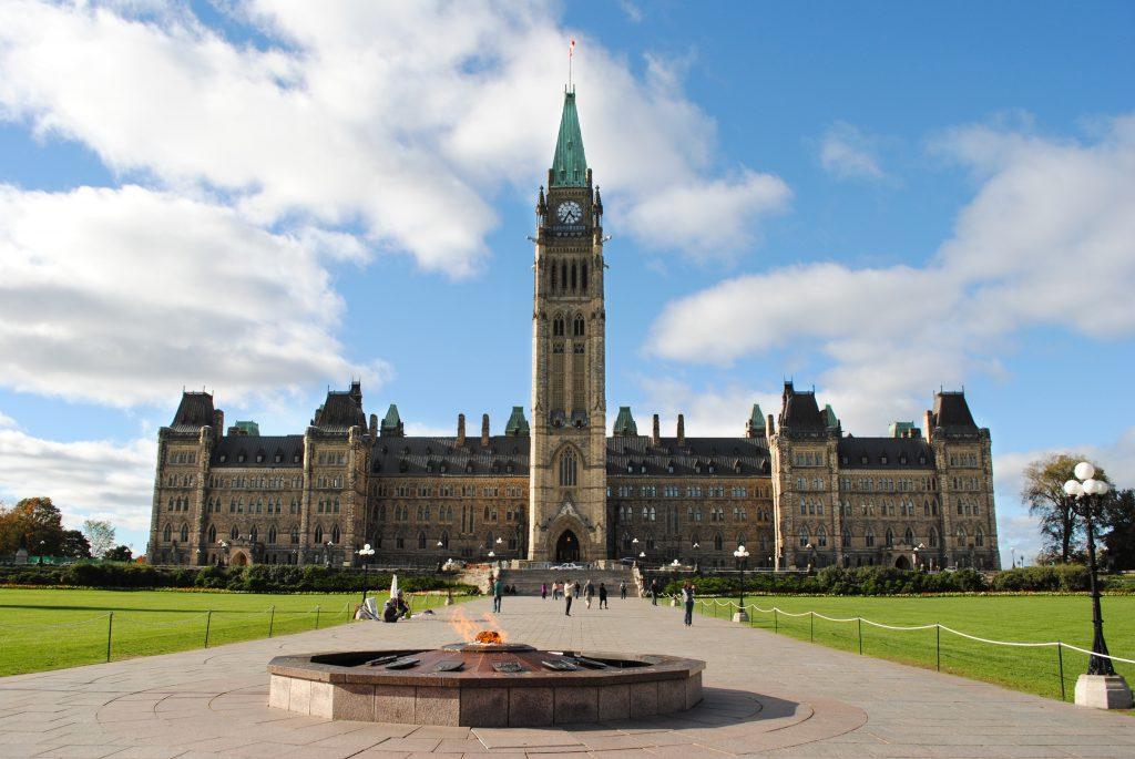 Парламентский холм - Оттава, столица Канады
