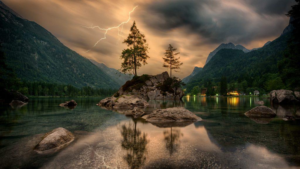 Озеро Хинтер (Hintersee) - Рамзау, Бавария