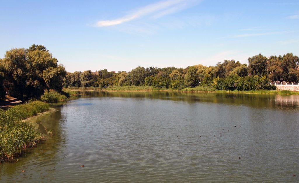 Река Хорол в Миргороде фото
