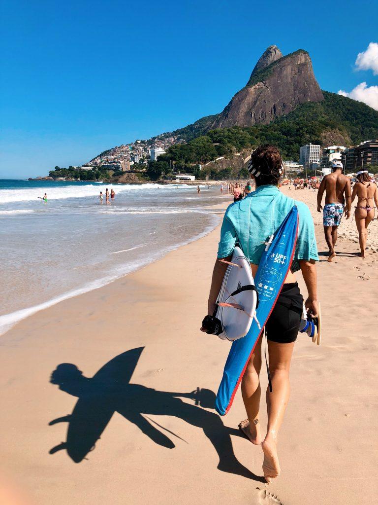 Фото пляжа Ипанема бич в Рио