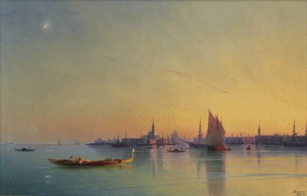 Айвазовский - Венеция на закате
