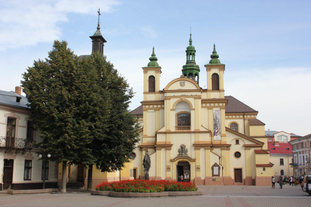 Фото центра Ивано-Франковска