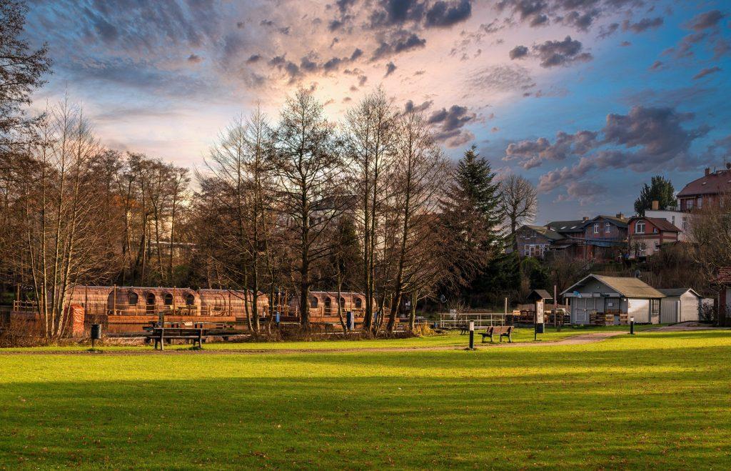 Парк в Ивано-Франковске фото