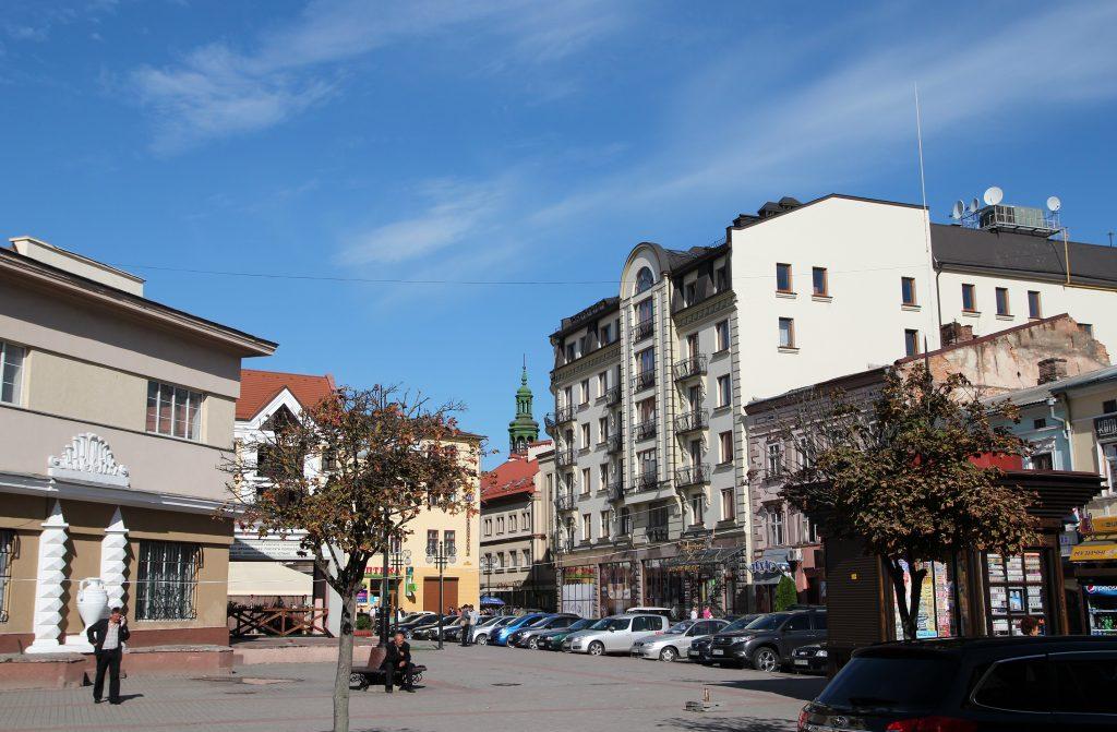 Центр города Ивано-Франковск, Украина