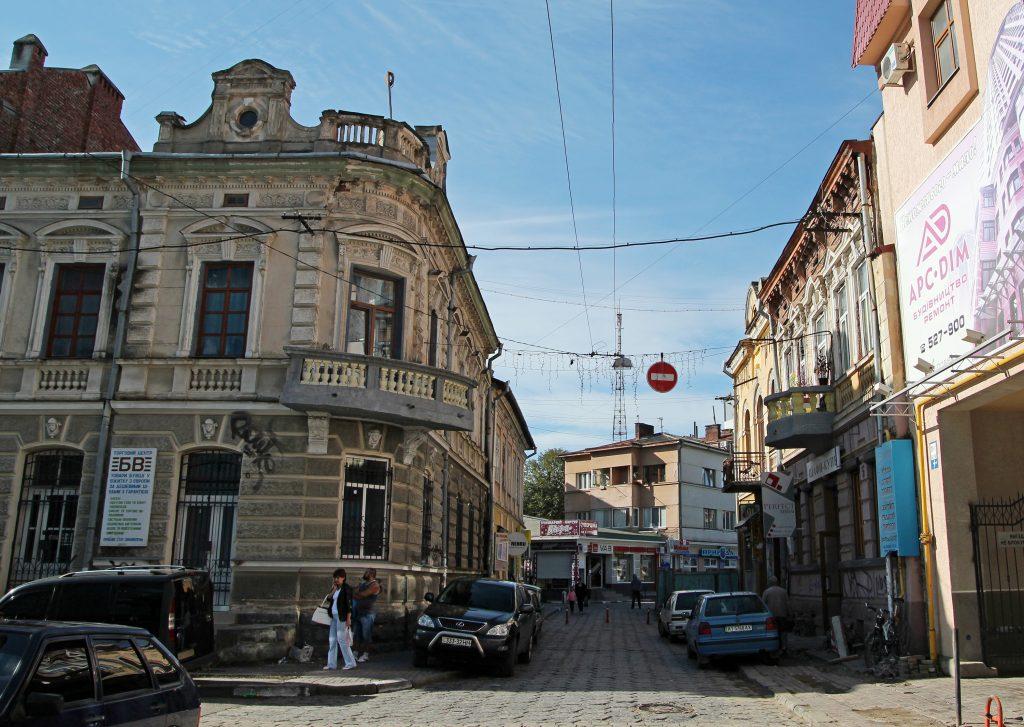 Старые улицы Ивано-Франковска