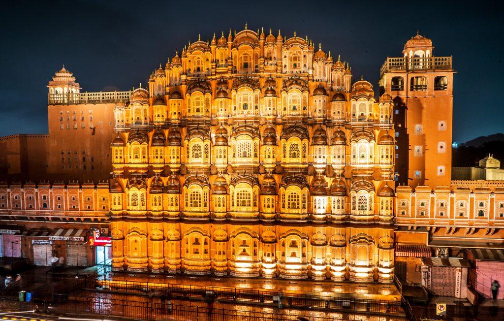 Джайпур Дворец Ветров фото