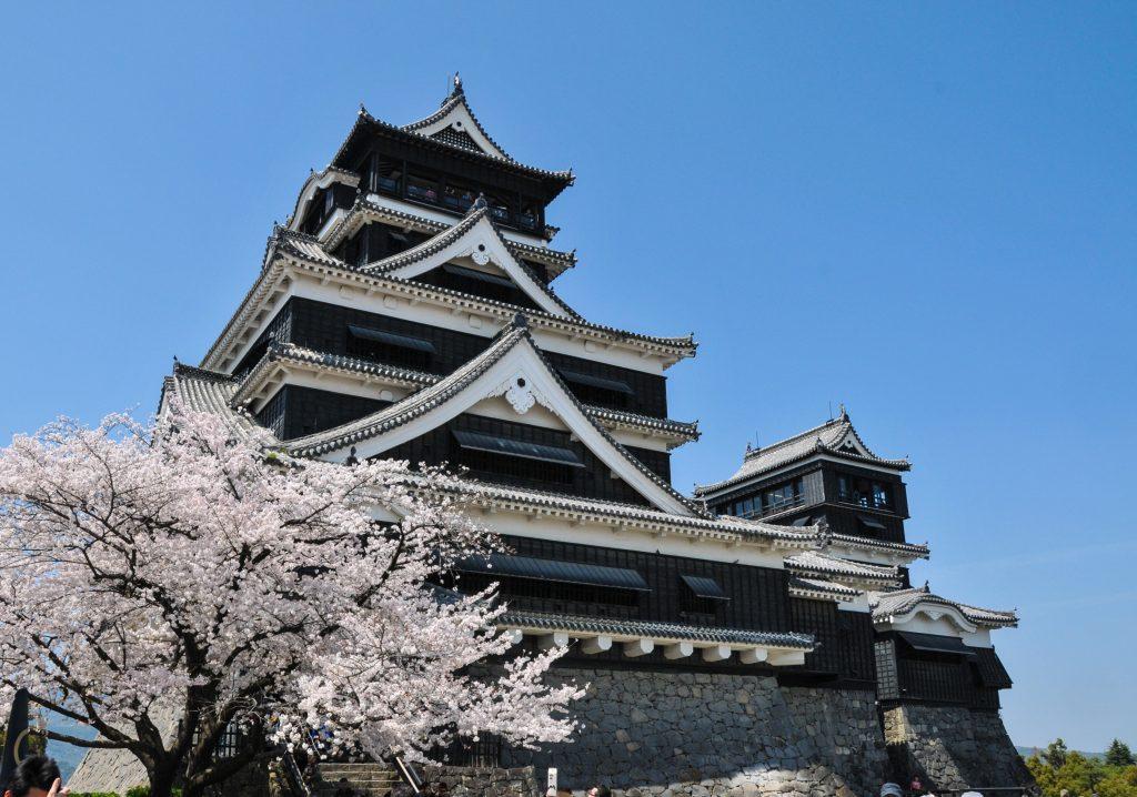 Замок Кумамото в Японии
