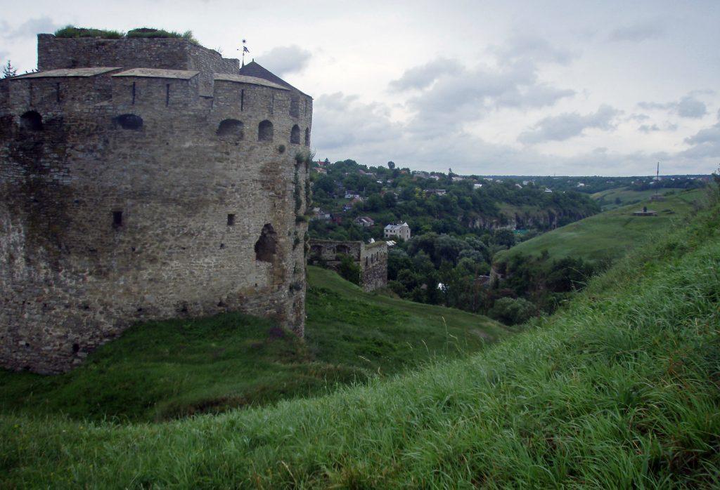 Каменец-Подольский вид на крепость и город