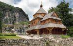 Каменец-Подольский - деревянная Крестовоздвиженская церковь