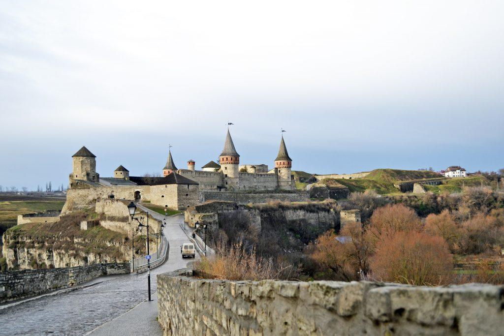 Замок Каменец-Подольского фото