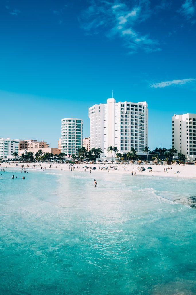 Фото пляжа в Канкуне