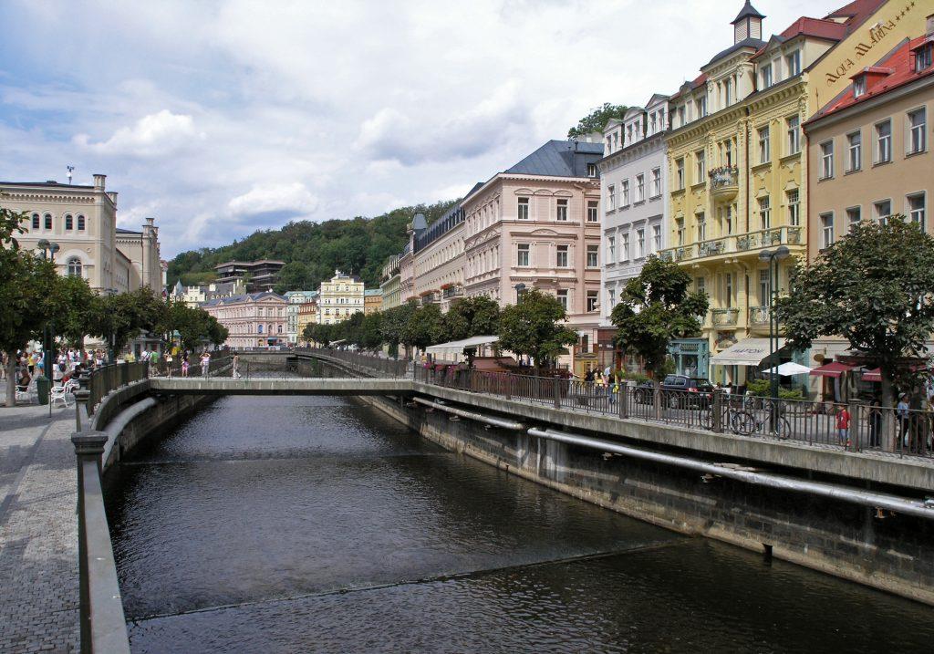 Город курорт Карловы Вары, Чехия