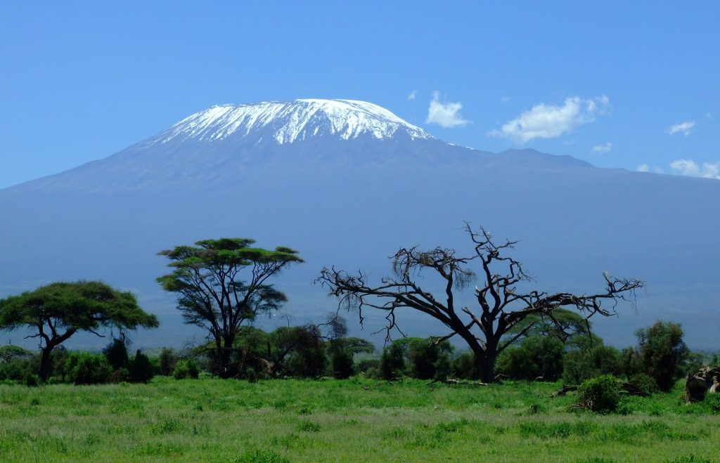 Кения вулкан Килиманджаро панорама