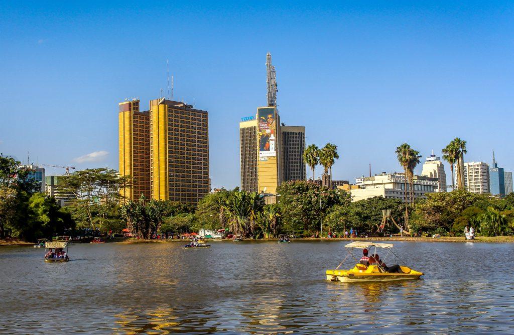 Парк в центре Найроби Кения