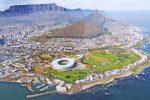 Панорама Кейптауна с воздуха