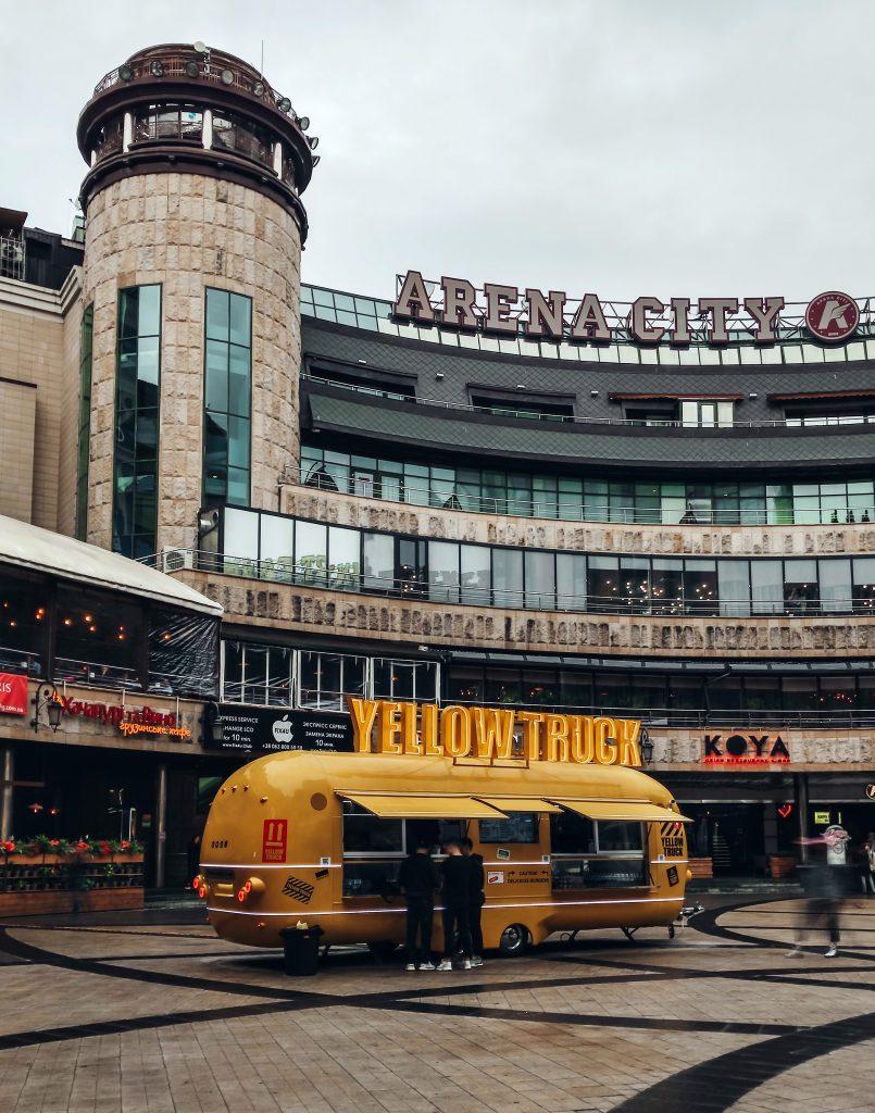 Торговый центр Арена Сити в Киеве