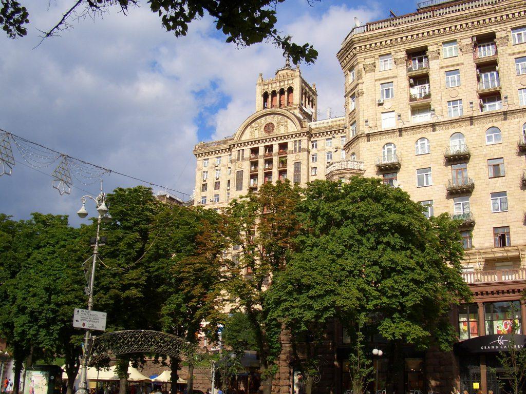 Архитектура улицы Хрещатик в Киеве
