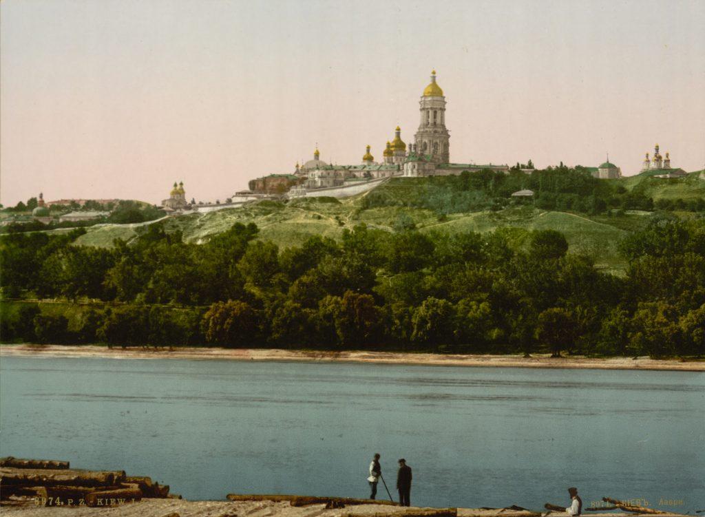Киево-Печерская Лавра в начале 20 века