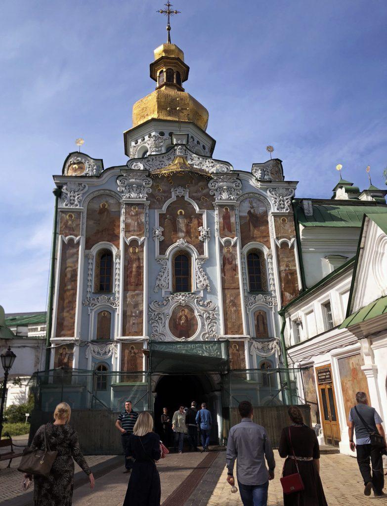 Вход в Киевскую Лавру фото