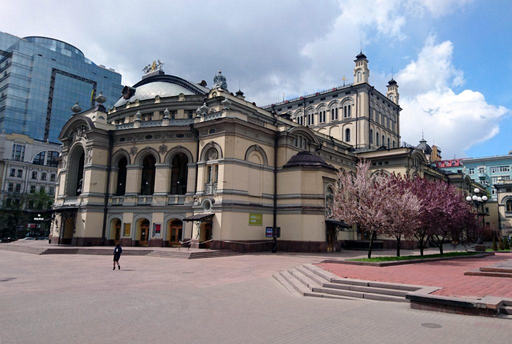 Киевский оперный театр фото