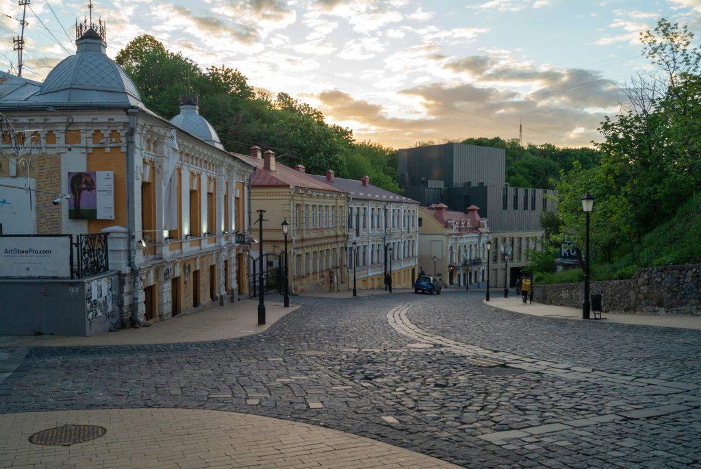 Панорамы Киева - Андреевский спуск