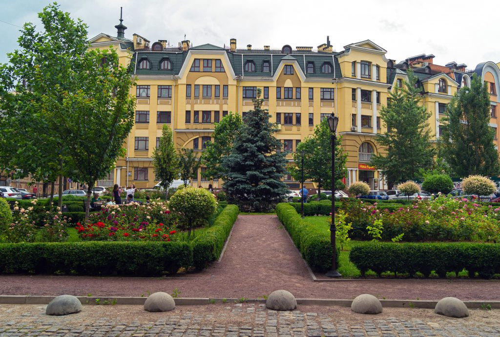 Парк на Воздвиженке в Киеве
