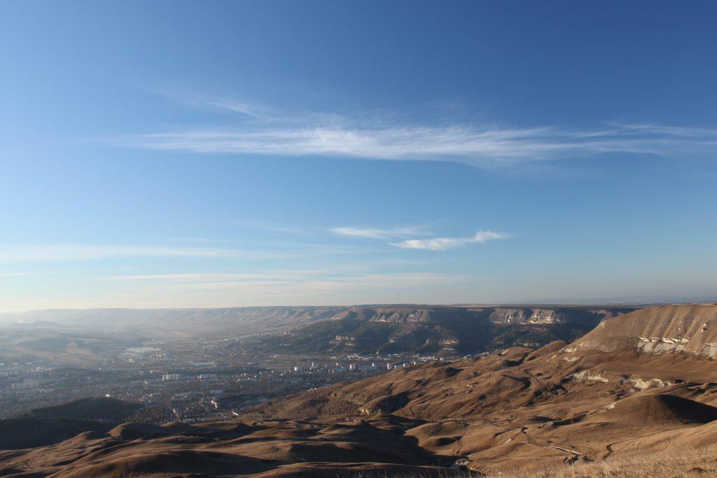 Кисловодск панорама города, Кавказ