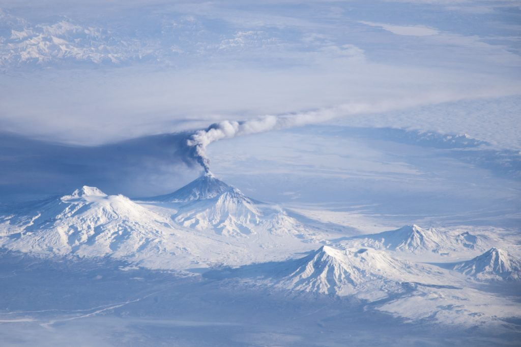 Камчатка вулкан Ключевская сопка