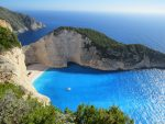 Мыс на острове Корфу стоковое фото