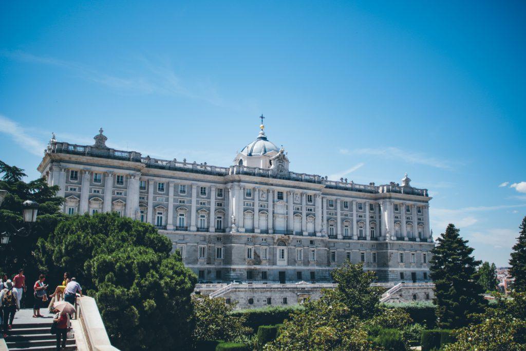Королевский дворец в Мадриде фото