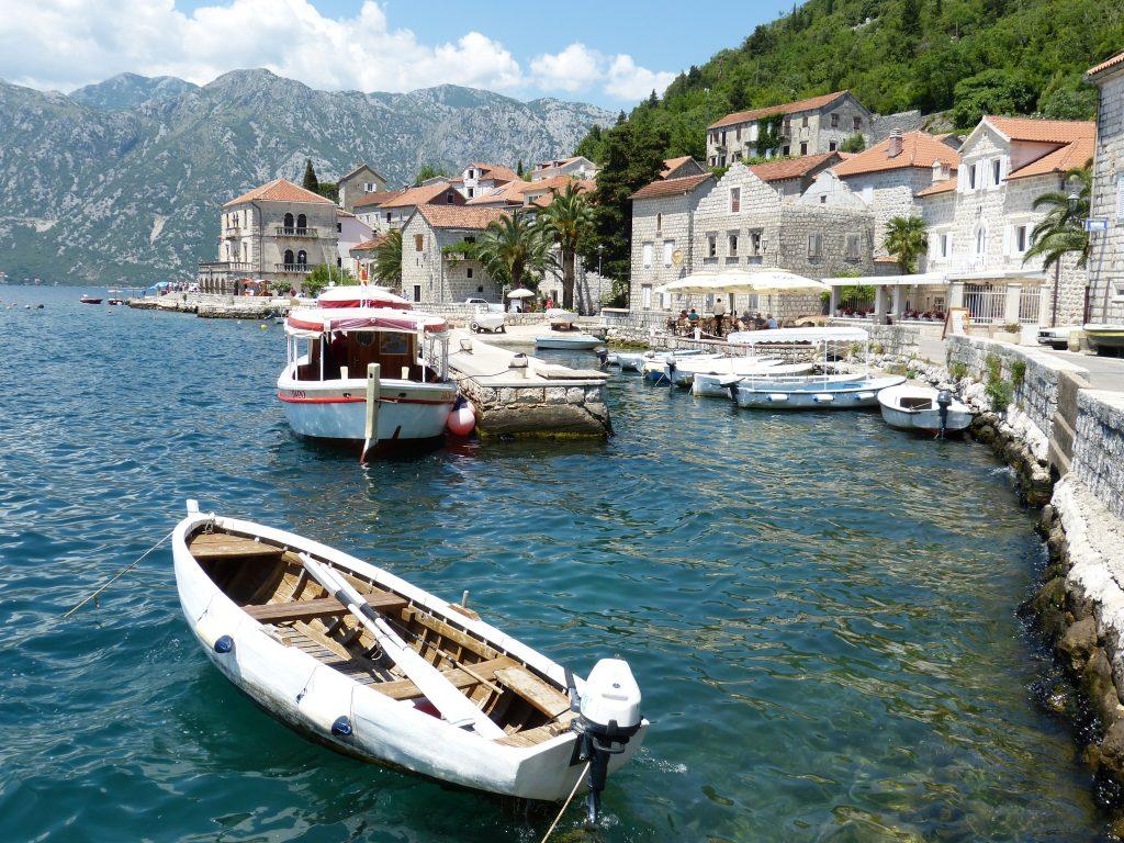 Залив Котор в Черногории