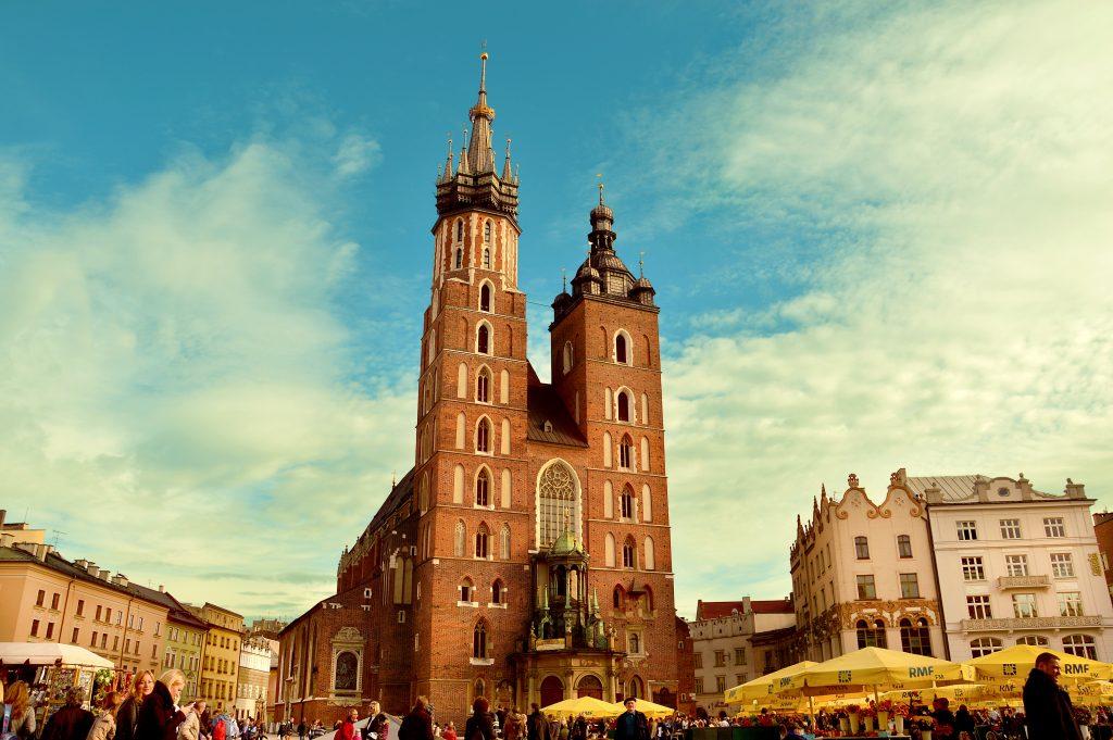 Фото Кракова - Мариацкий костел