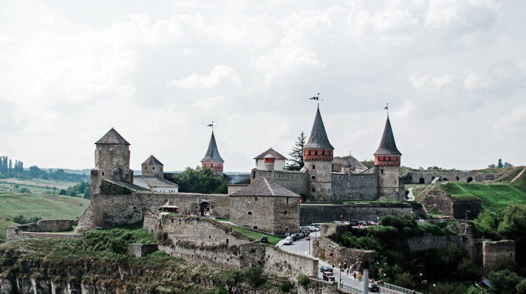 Крепость замок в Каменец-Подольском
