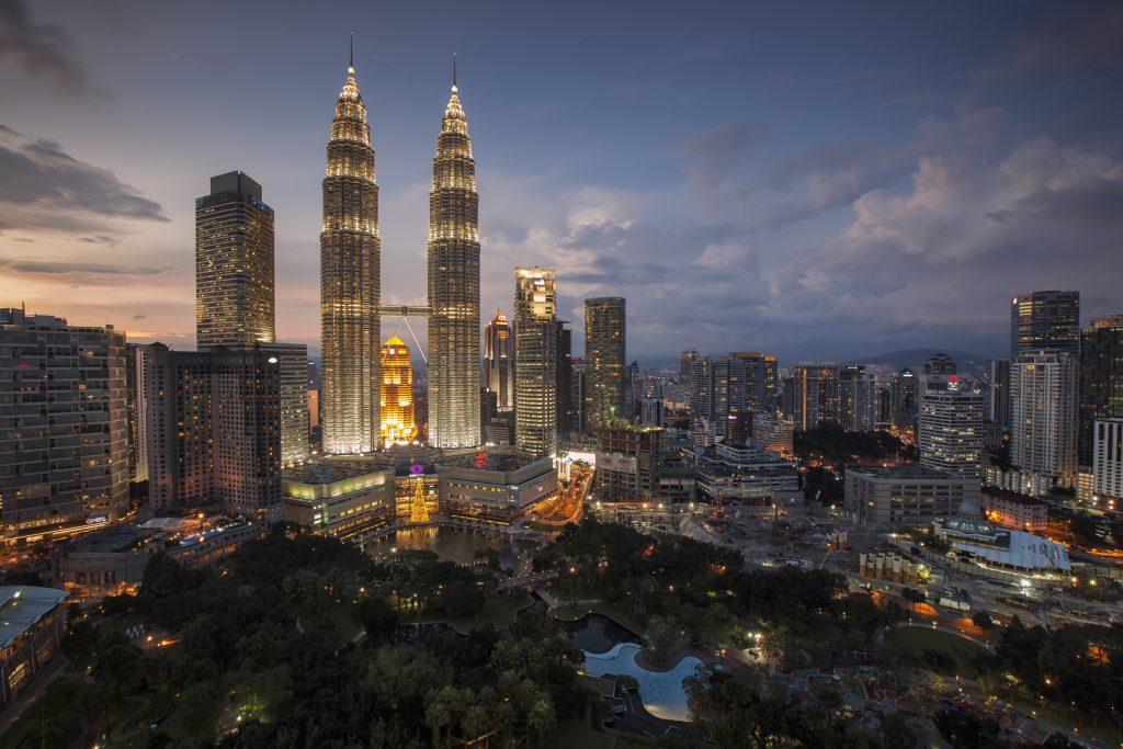 Фото небоскребов Куала-Лумпура