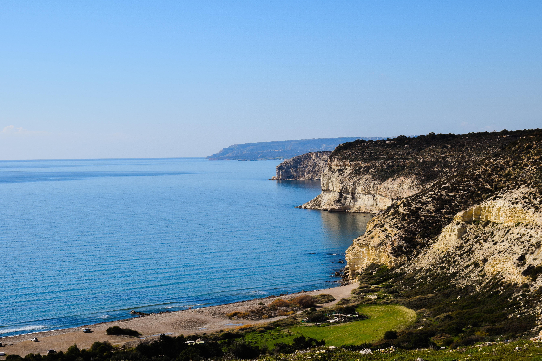 Фото пляжа Курион бич на Кипре
