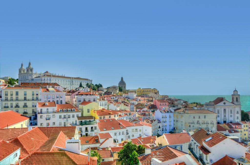 Фото центра Лиссабона