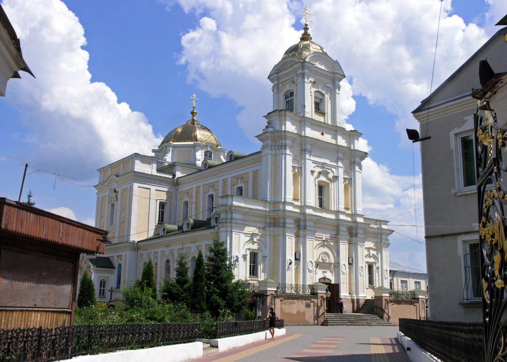 Свято-Троицкий кафедральный собор Луцка, город Луцк
