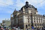 Львовский оперный театр - фасад здания