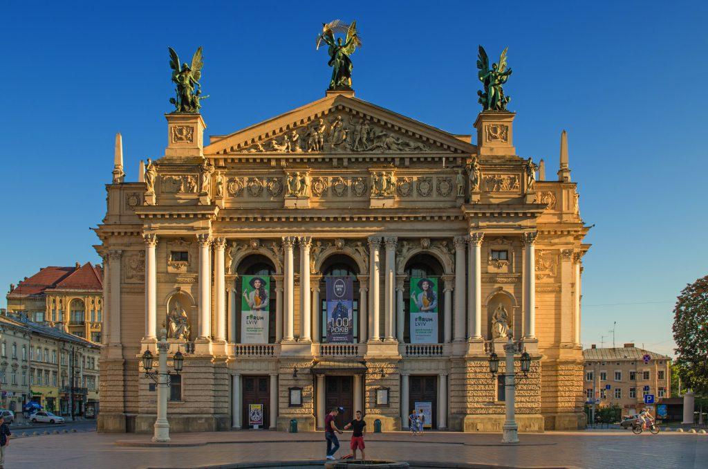 Львовская опера фото