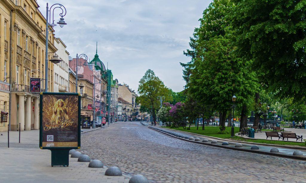 Парк в центре Львова фото