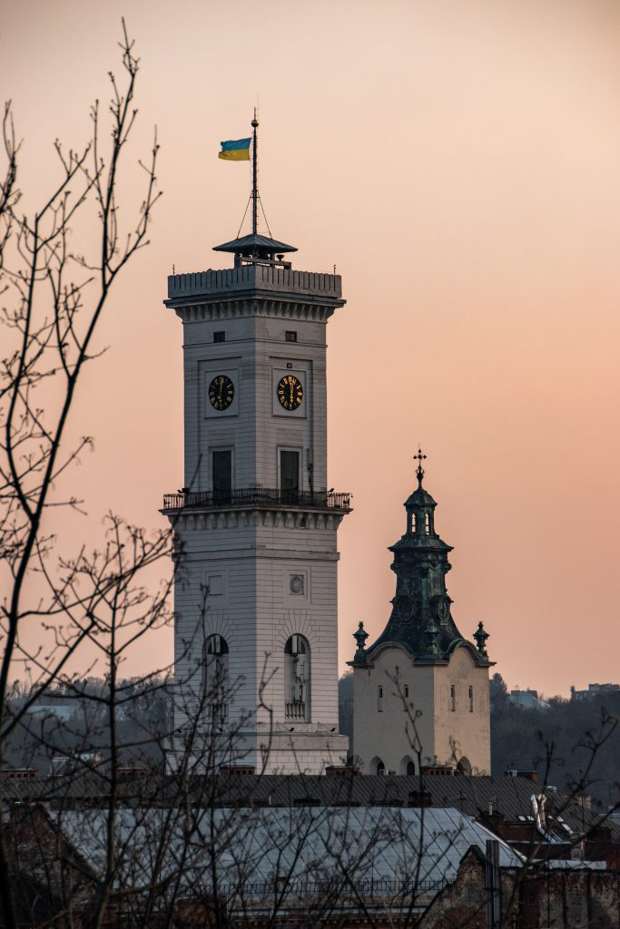 Фото Ратуши Львова