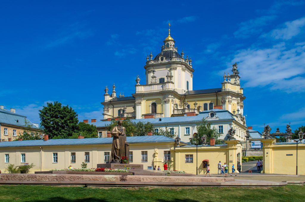 Собор Святого Юра в Львове фото