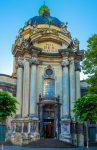 Собор в центре Львова