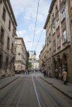 Старая улица во Львове фото