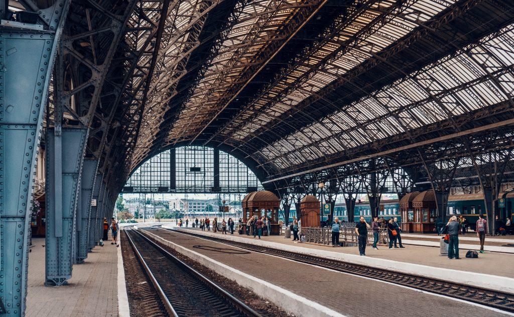 Львовский железнодорожный вокзал фото